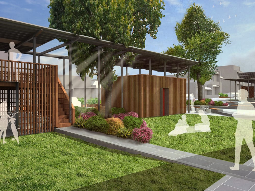 Small architecture firms engaging the community with big ideas