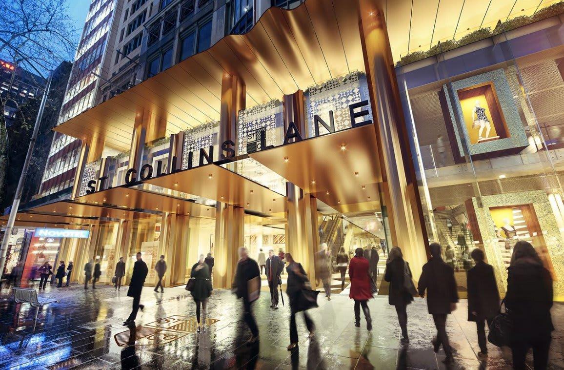 St. Collins Lane nears construction