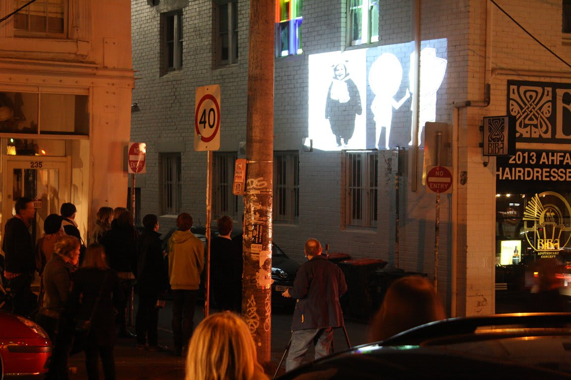Gertrude Street Projection Festival 2013