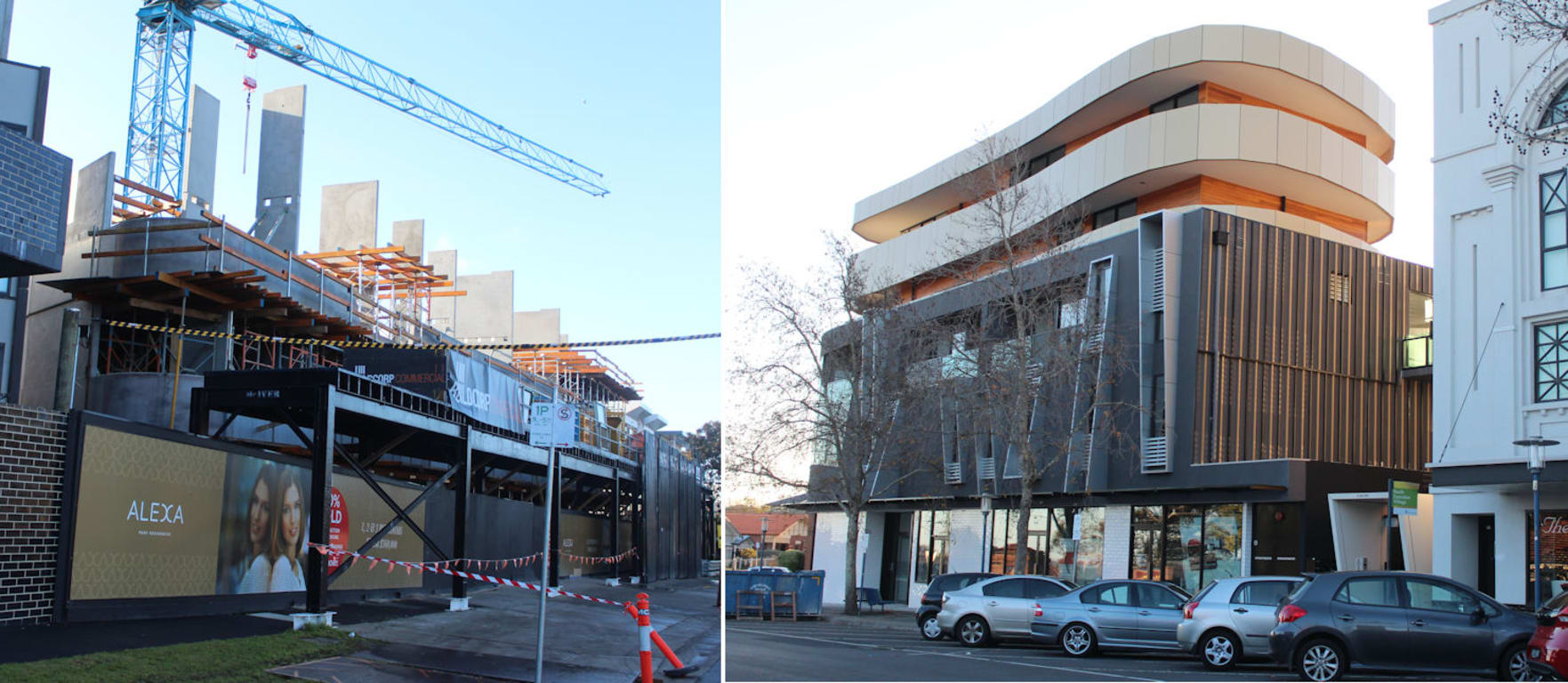 Chadstone's twin towers sharpen up
