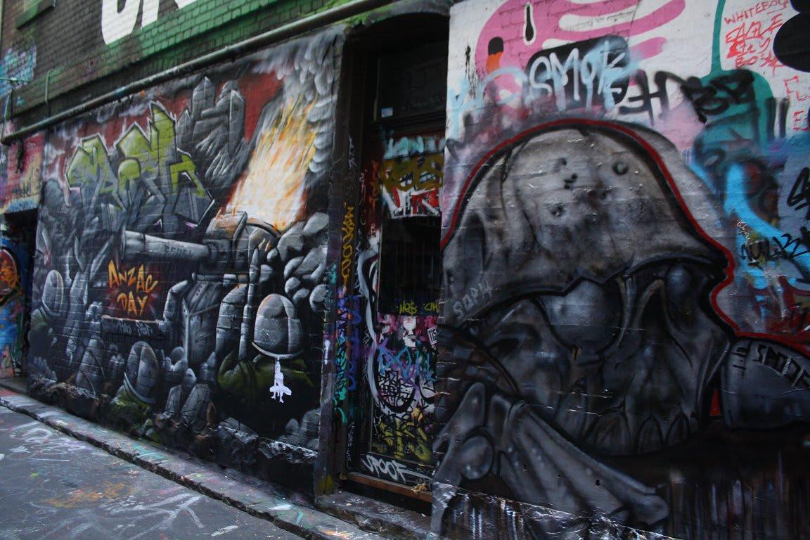 Hosier Lane: half yearly snapshot