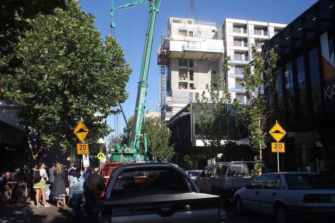 One9, Hall Street Moonee Ponds, 34 apartments, 5 days