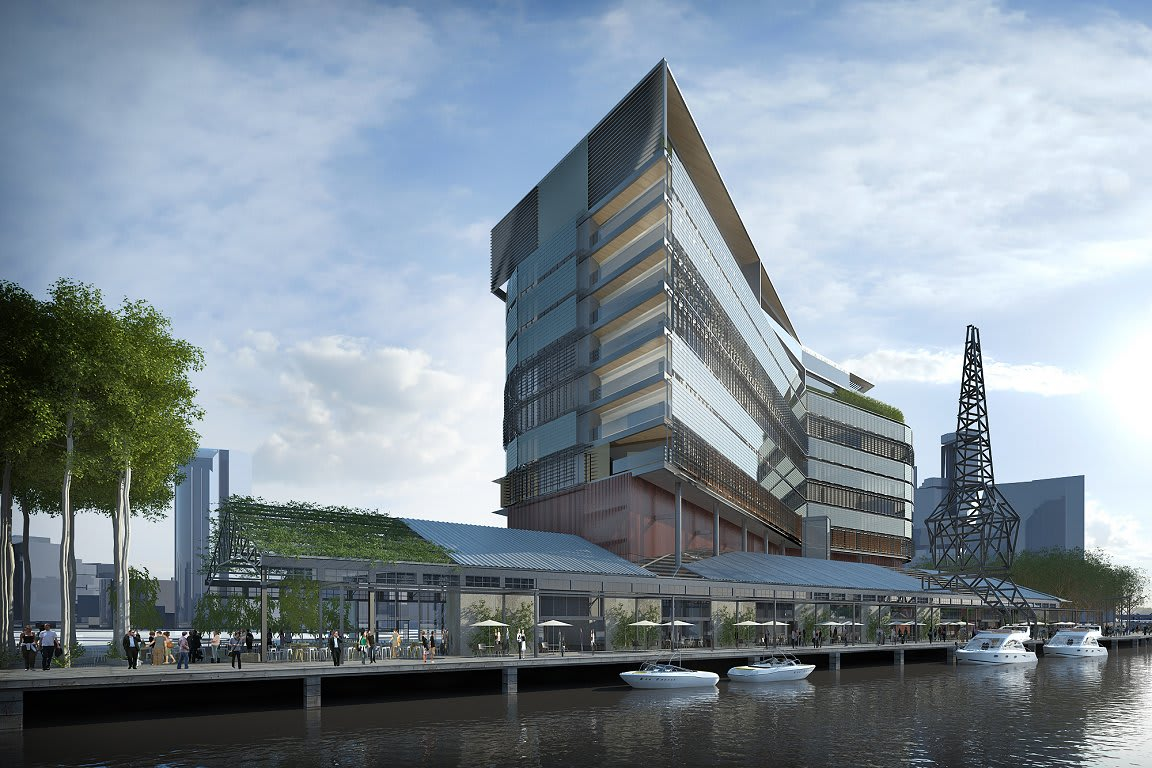 North Wharf - A new urban space