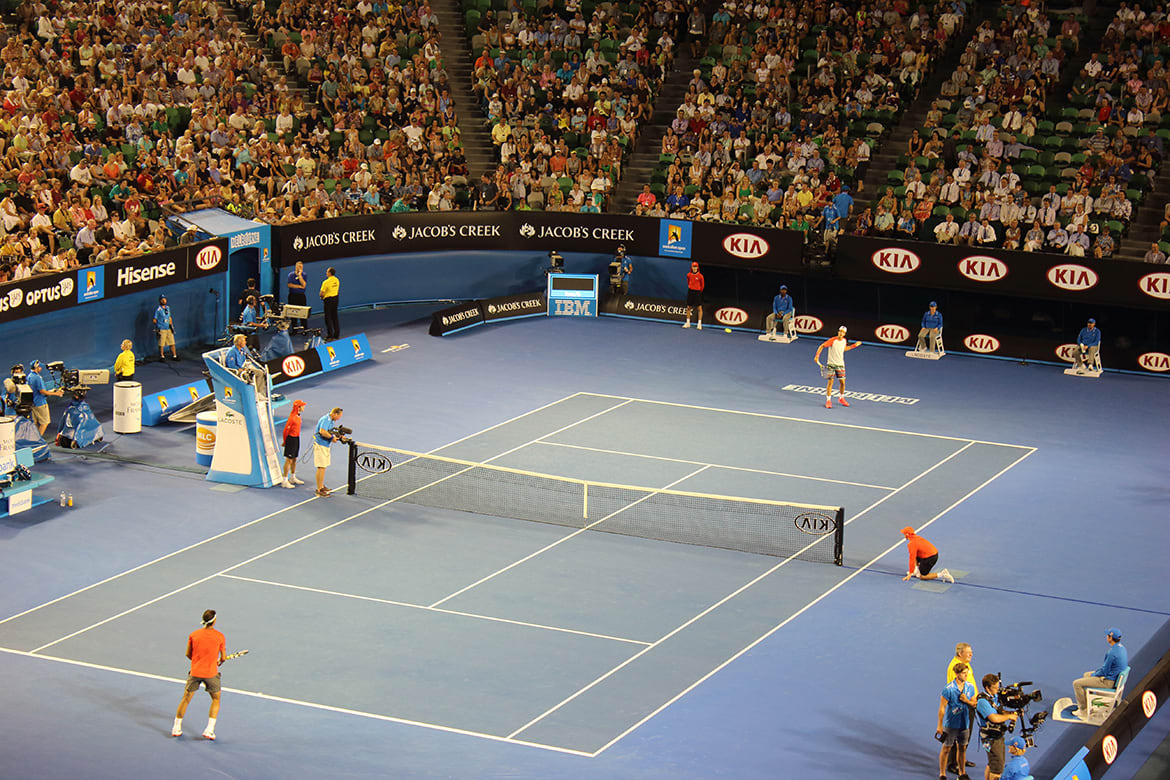 Get Court Up! Australian Open 2014 and expansion plans beyond