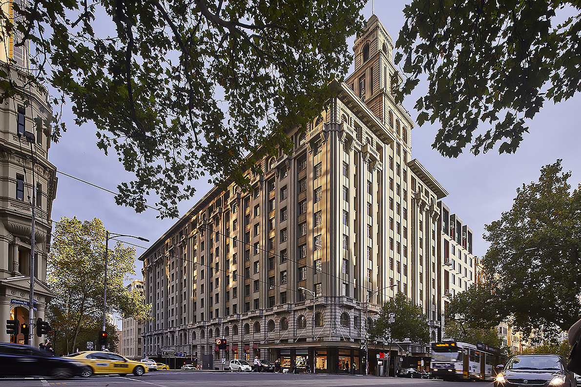 Behind the facade: 161 Collins Street