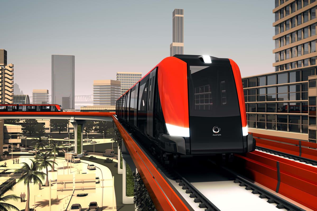 New rail technology: Alstom's Axonis light metro