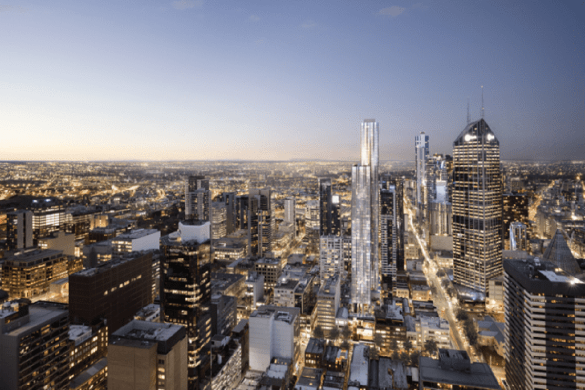 380 Melbourne height