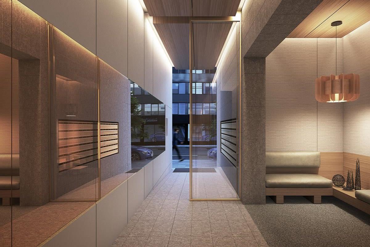 Lobby rendering.