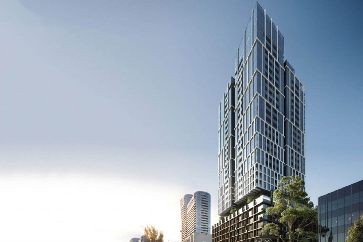 Rendering of East Central Tower. Image by Urbis.com
