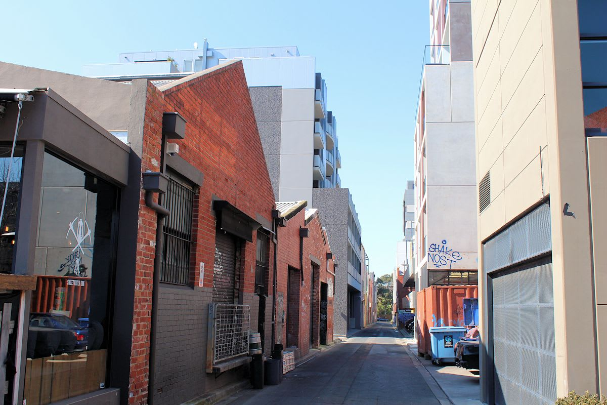 The transformation of South Yarra's back blocks continues