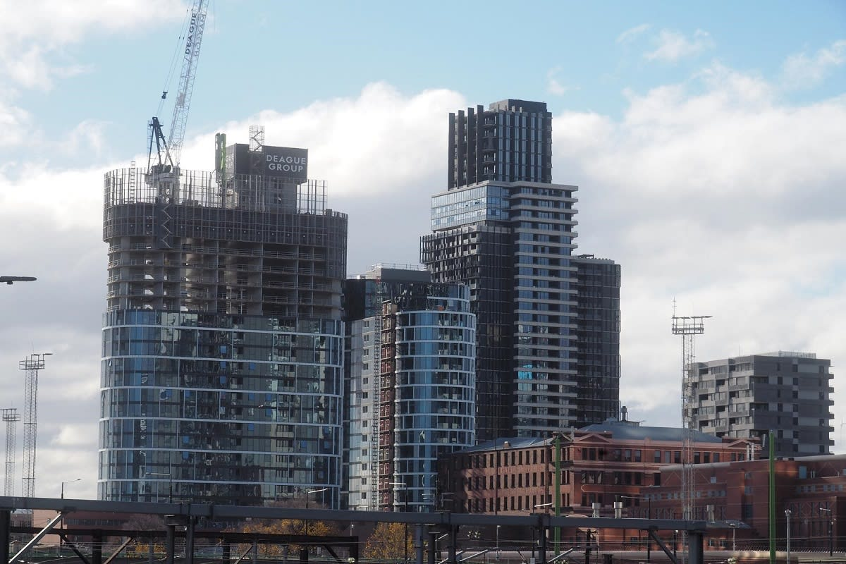 Latest construction update, 3rd of July. Image by Redden of Skyscrapercity.