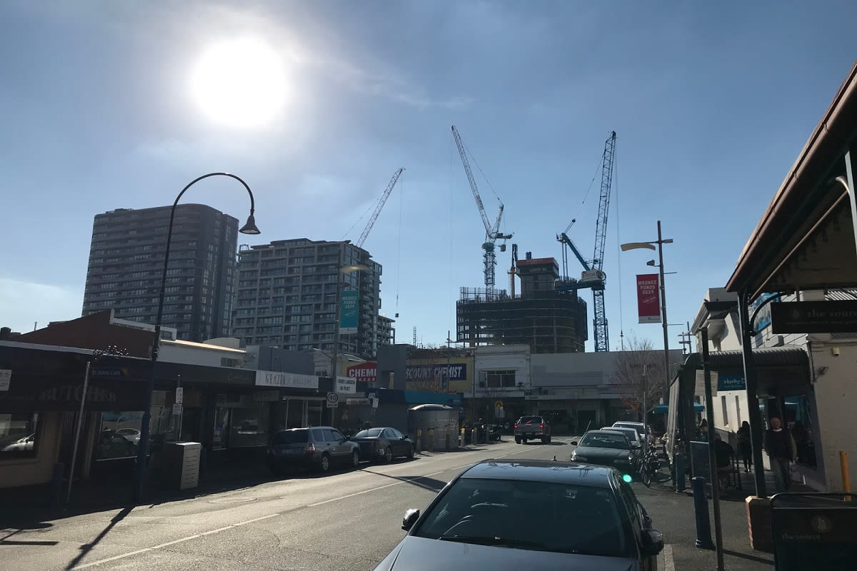 The most recent construction update by tayser at Skyscrapercity.com.