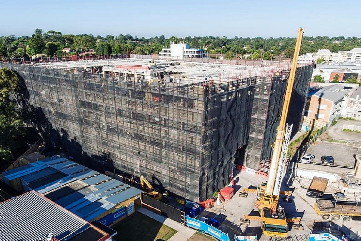 Latest construction update from March 2019 from Hutchies construction Instagram Page.