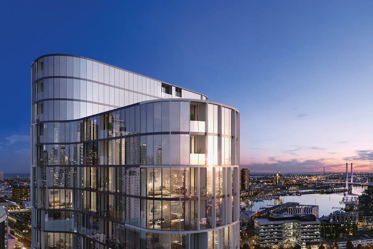 Rendering of Melbourne Village's tallest. Image by BHA