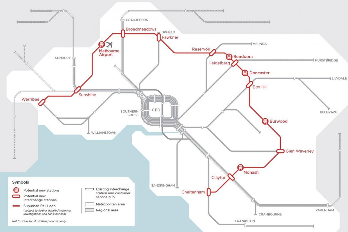 Does the Suburban Rail Loop Signal a More 'Urban Melbourne'?