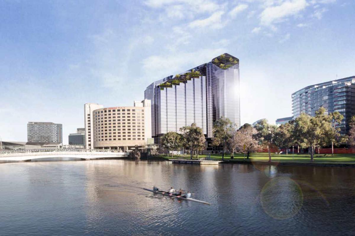 Planning Application > 7-23 Spencer Street, Melbourne