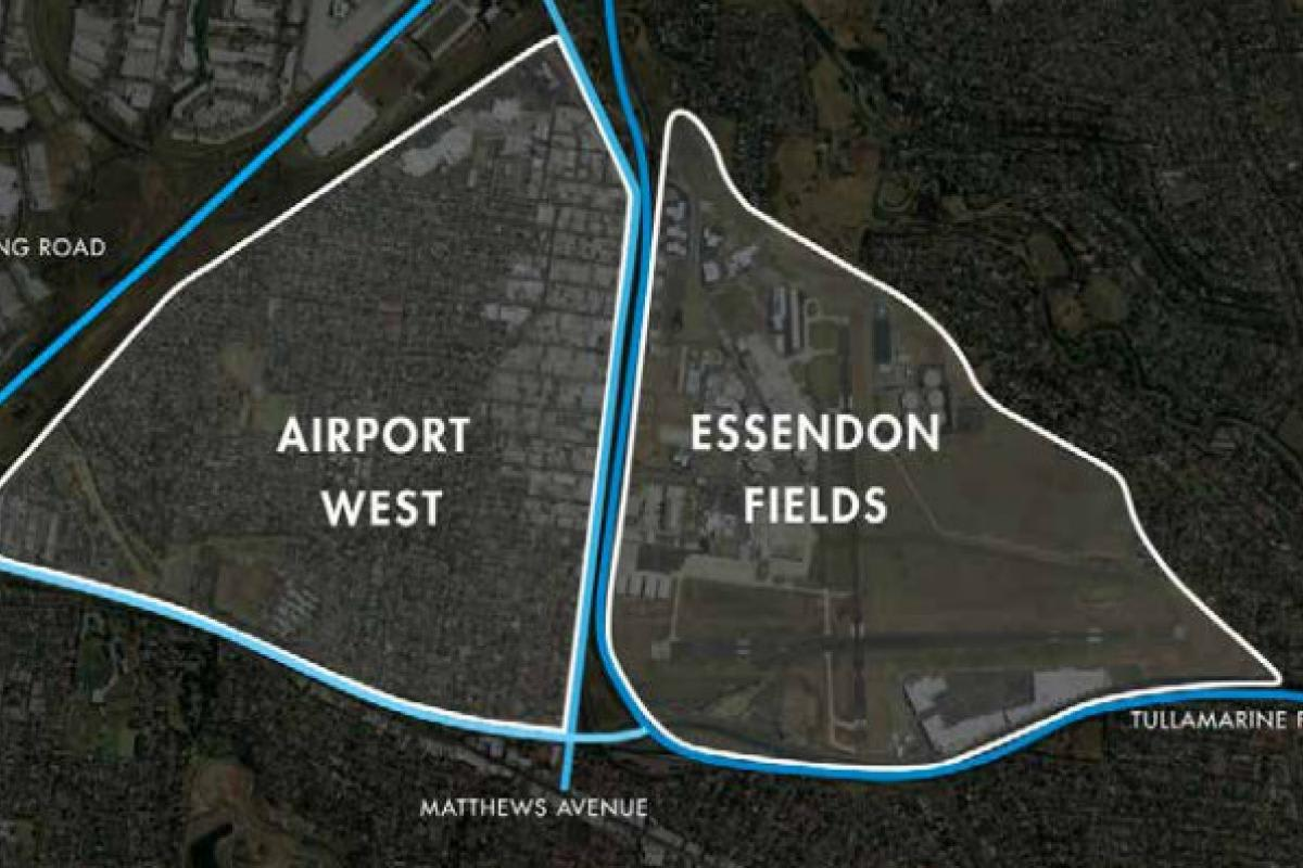 Airport West and Essendon Airport: auto-centricity status quo?