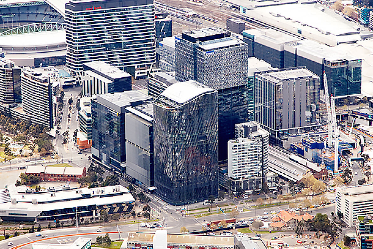 Collins Square reaches highest level of sustainable building density in Southern Hemisphere