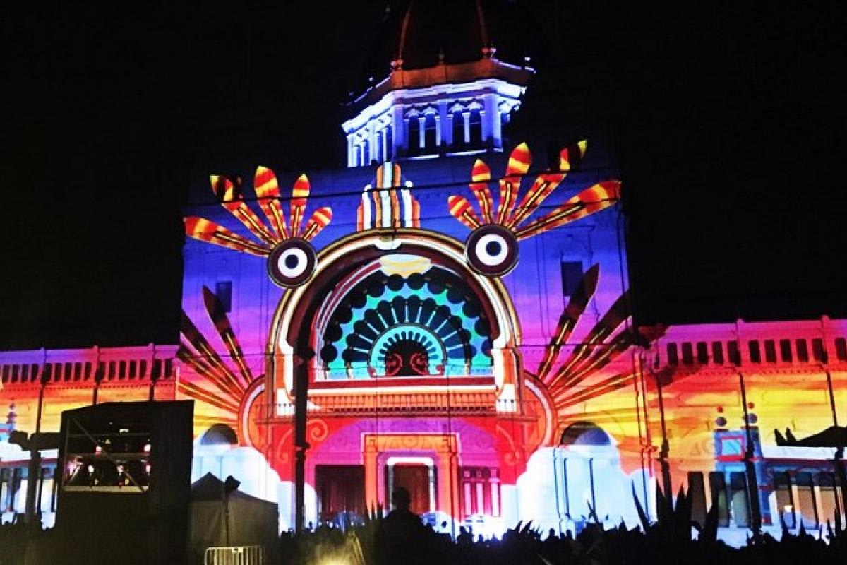 Melbourne's White Night 2017