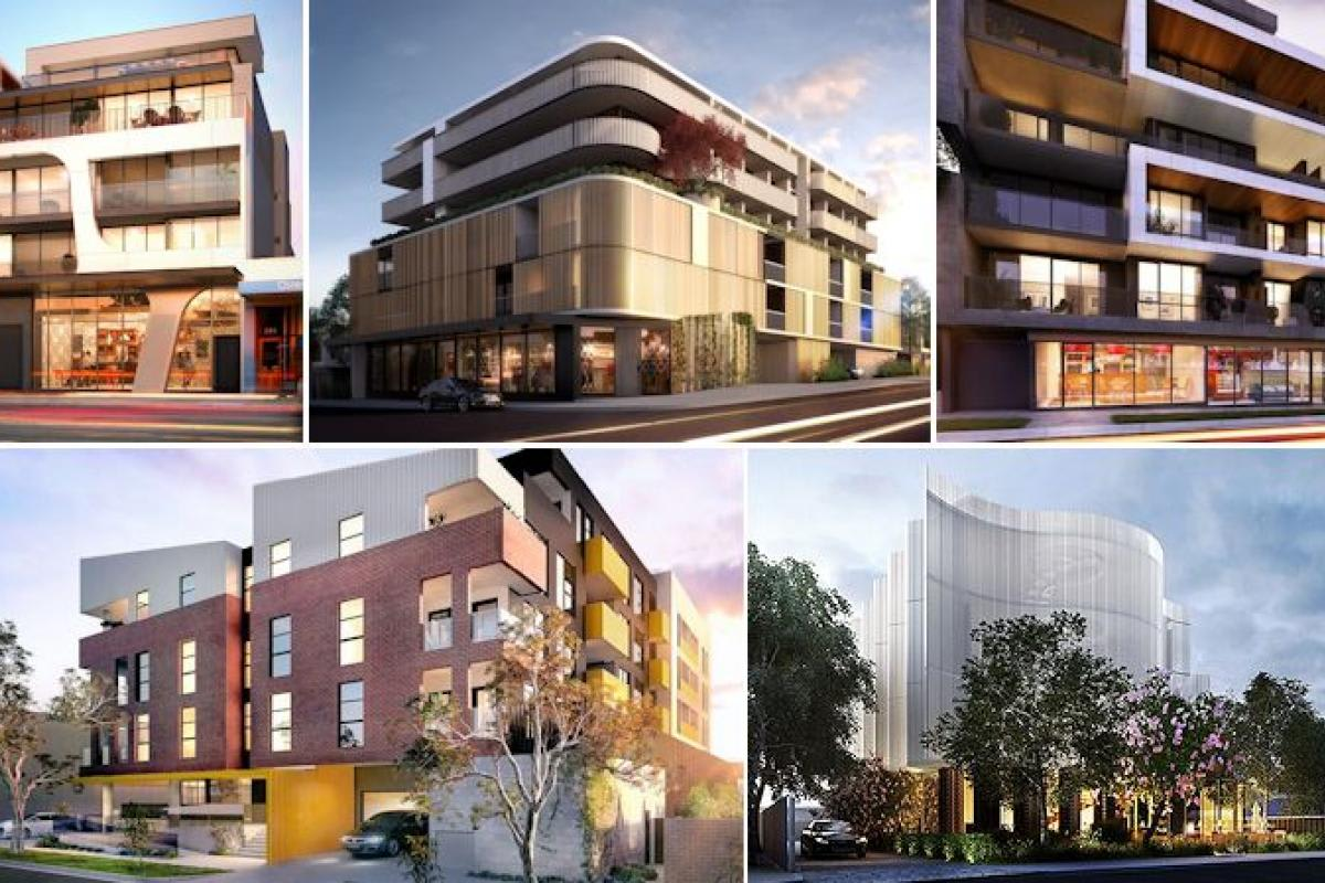 Melbourne's low-rise high-density: all projects with 5 or 6 floors in one long list