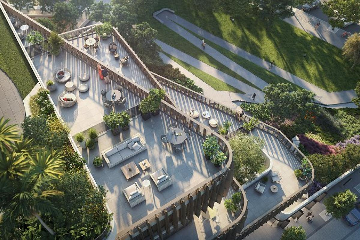 OSK Property pushes a living aspect not normally associated with Southbank
