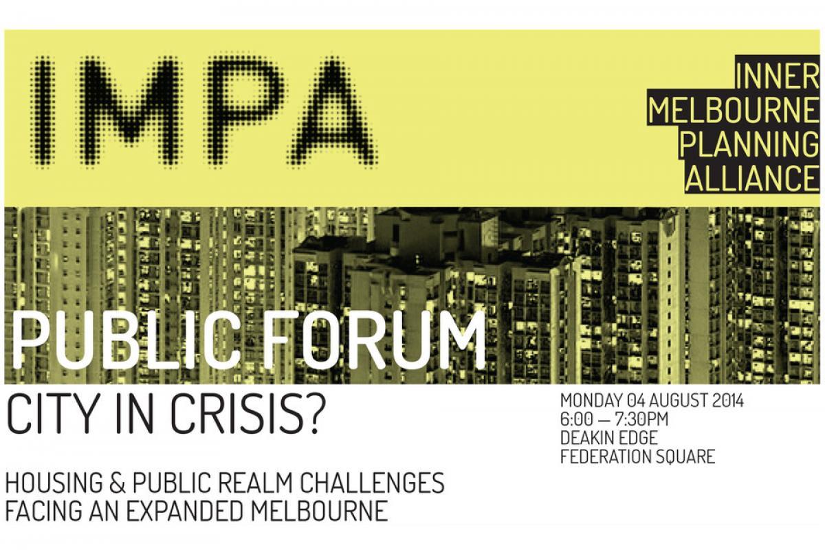 Public forum, City in Crisis?
