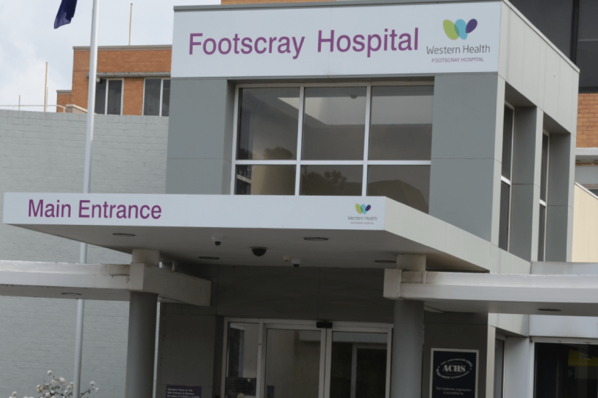 New Footscray Hospital location unveiled