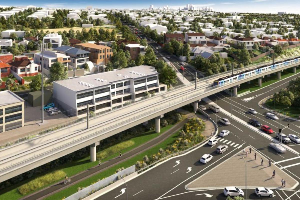 Toorak Road level crossing on the Glen Waverley line to be removed