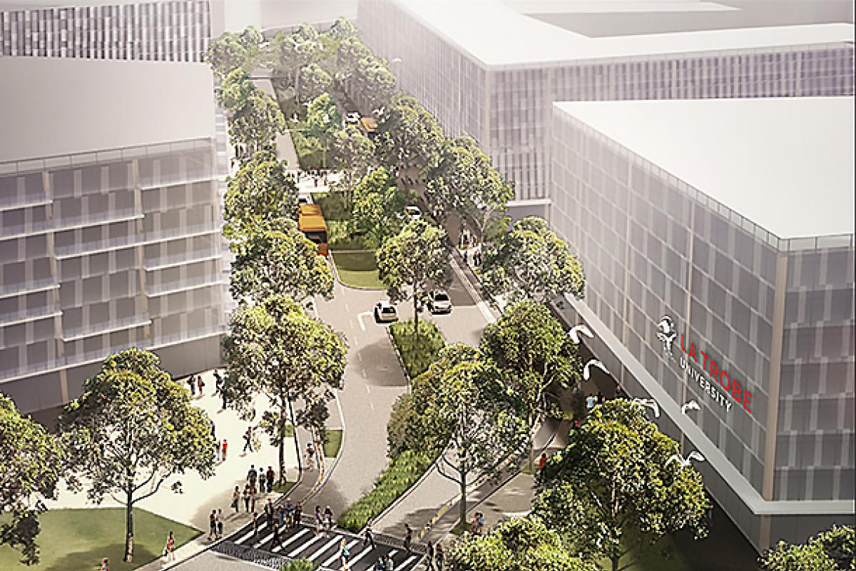 La Trobe University's $5 billion University City of the Future receives funding