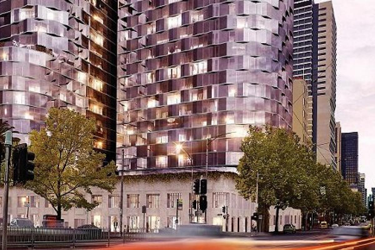 Talking the talk > 386-412 William Street, Melbourne