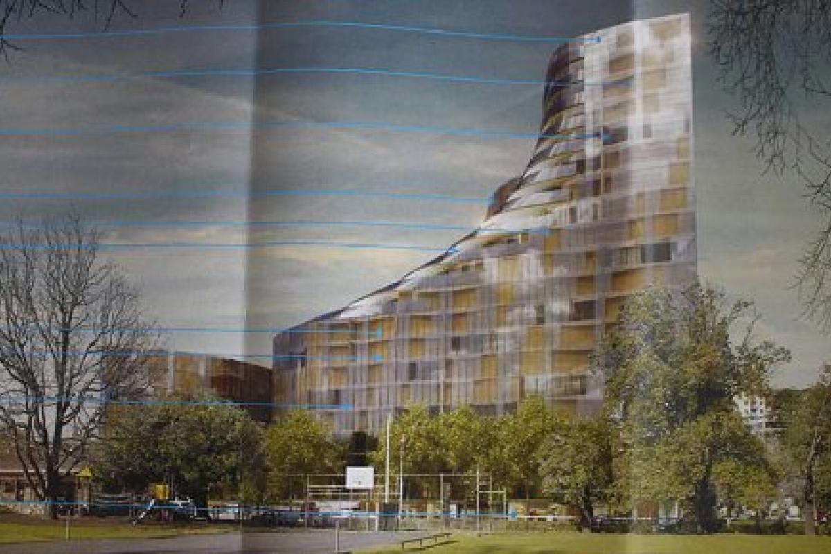 Planning Application > 601 St Kilda Road, Melbourne