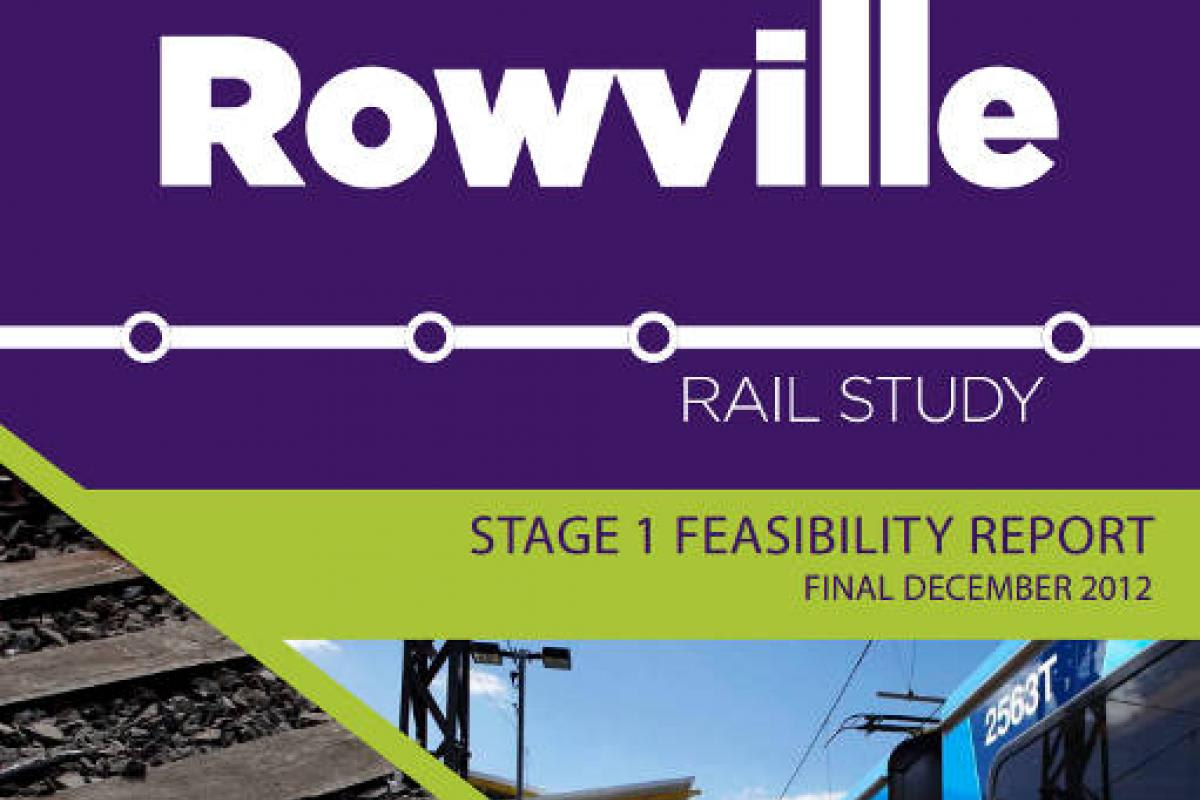 The Ballieu/Napthine government's Rowville Rail Study ignored the elephant in the room