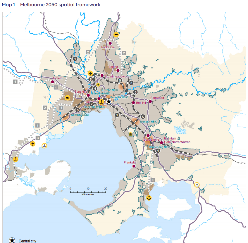 Changes to Plan Melbourne gazetted, adds Suburban Rail Loop and other active projects to city's strategic plan