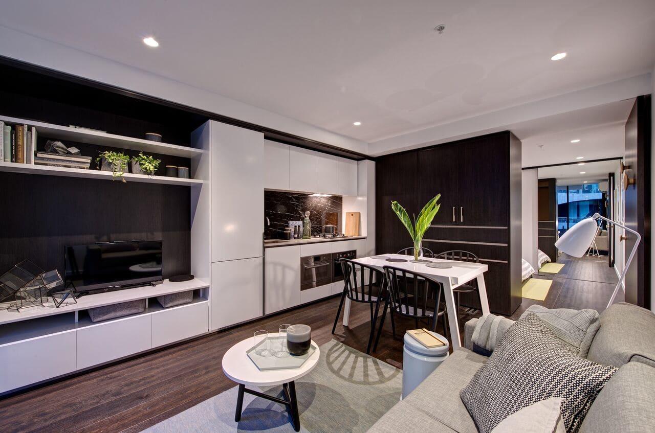 Inside Australia's first convertible apartment