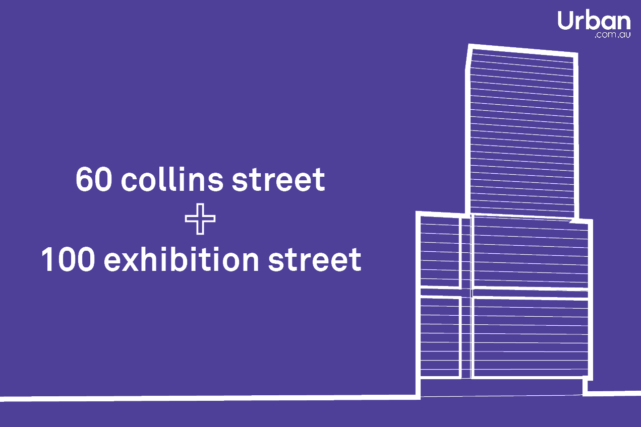 Development Scenario: 60 Collins + 100 Exhibition Street, Melbourne