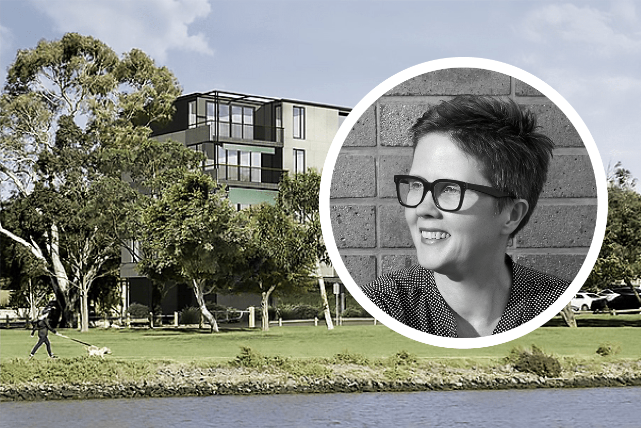 MA Architects' Karen Alcock discusses Parkside, Footscray