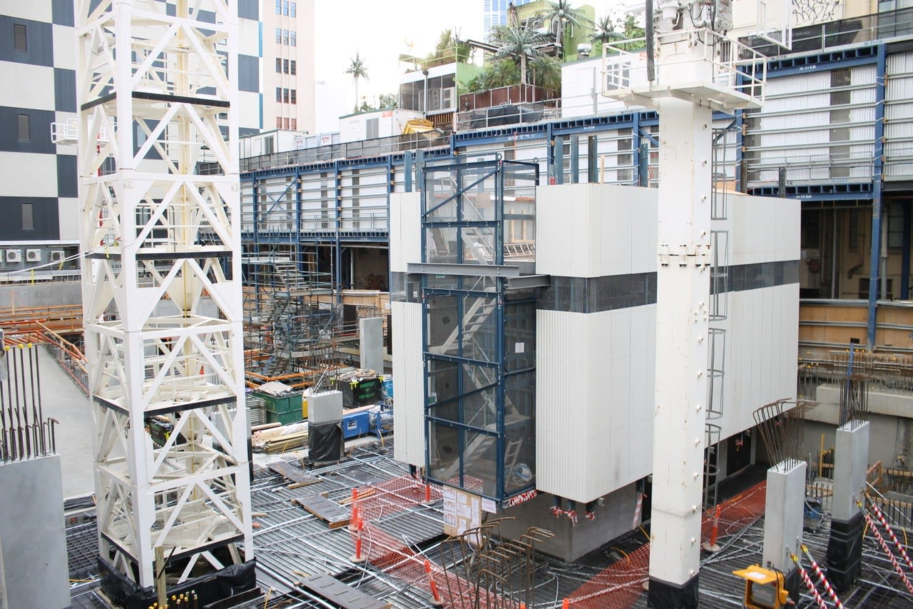 Melbourne construction highlights - August