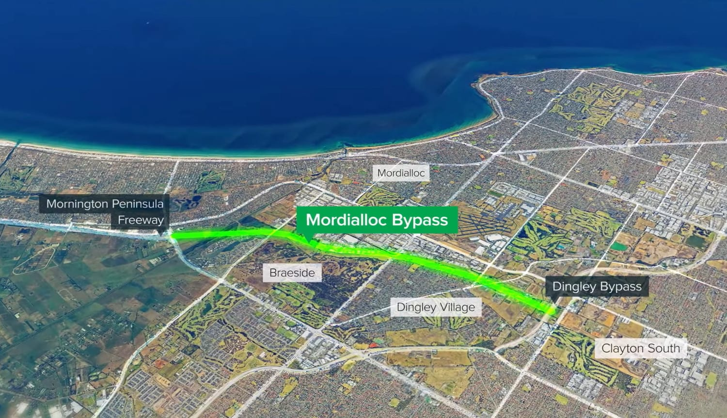 Mordialloc bypass now a freeway