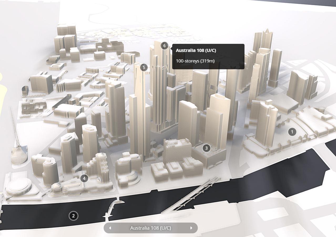 Urban Melbourne's 3D model is evolving