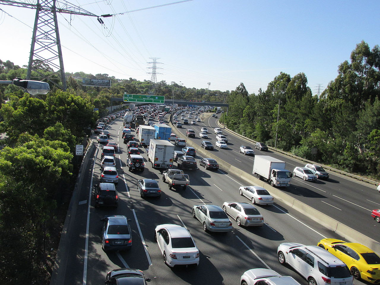 Monash Freeway upgrades: 9 minutes of short-term congestion relief