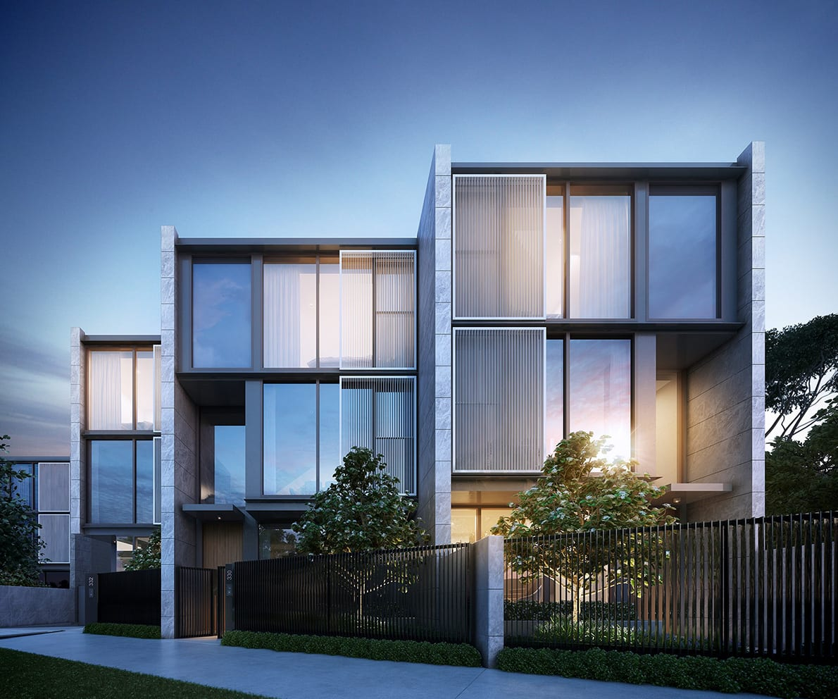 Triumvirate of design combine for Parkville