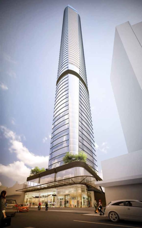 Iris list white hot Parramatta Gateway development site
