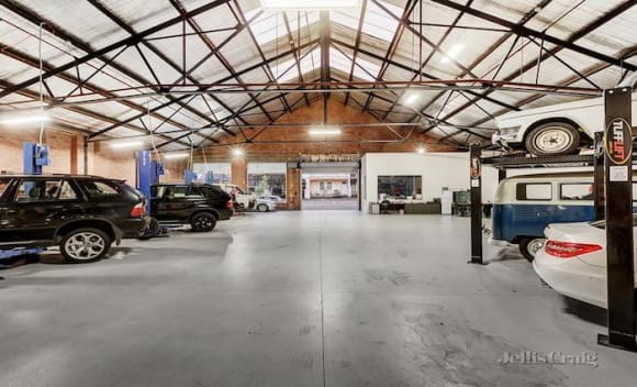 No buyer yet for historic North Melbourne car paradise