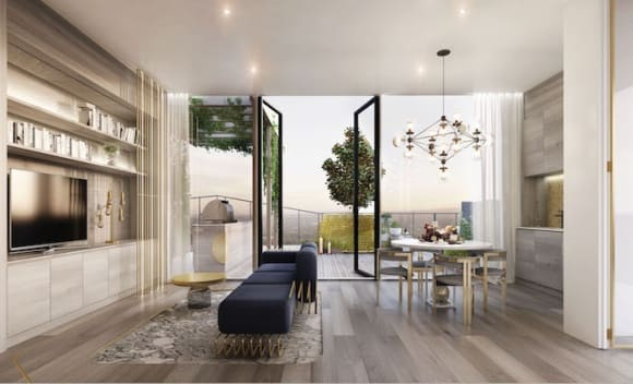 Adelaide's highest residence in Realm Adelaide for sale at .5 million