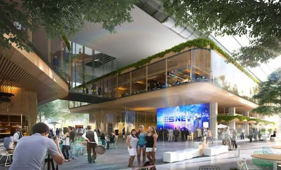 Nine Network lease underpins landmark North Sydney office project
