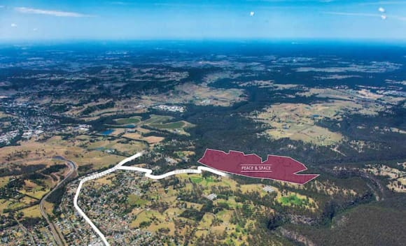 The Acres underway as rural masterplanned community west of Sydney