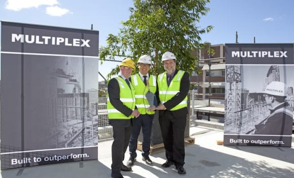 Multiplex tops out Paddington aged care project
