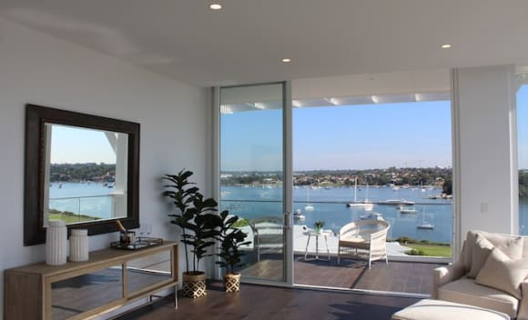 Breakfast Point harbourview apartment listed for .985 million