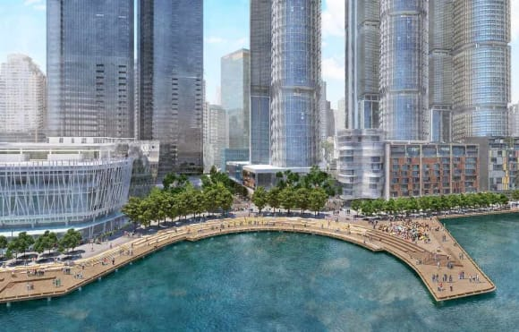 NSW Government reveal plans for new harbour cove and public park at Barangaroo