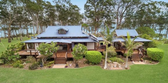 Garden Island near Port Stephens listed for sale for the second time